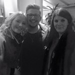 Becky & Laura meeting Che Chesterman!