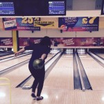 Liz hoping for a strike!