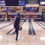 Becky hoping for a strike!