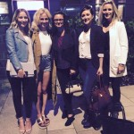 Some of the RGM girls meeting Pixie Lott