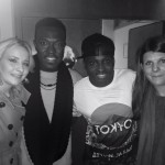 Becky & Laura meeting Reggie & Bollie