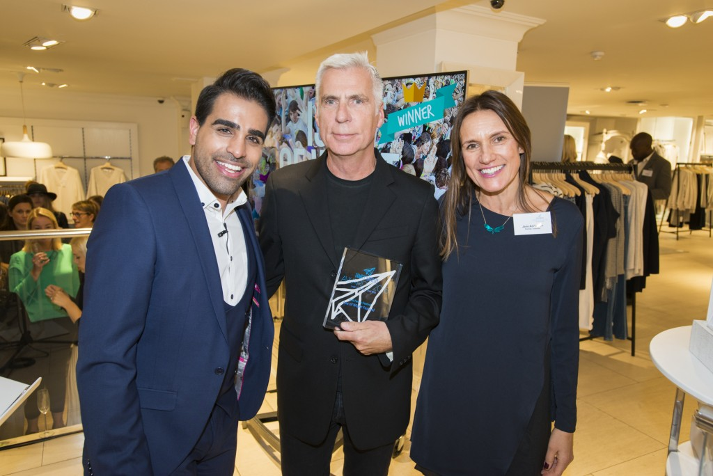 Dr Ranj Singh, John Giddings (Isle of White Festival), Jane Anderson (Family Traveller)