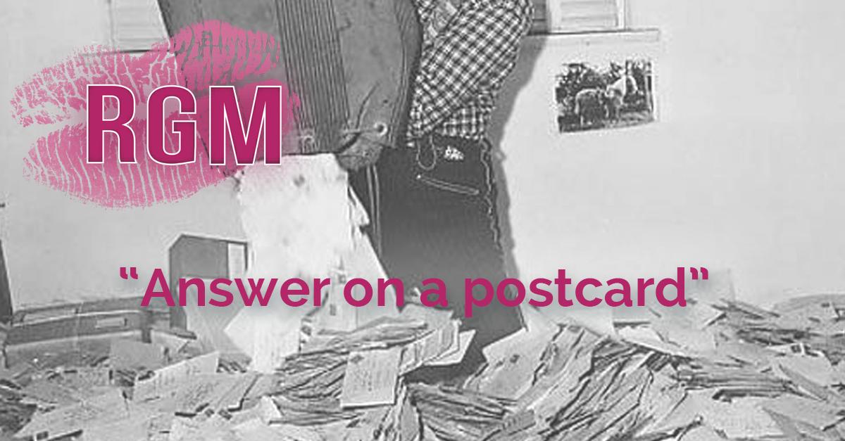 Answer on a postcard